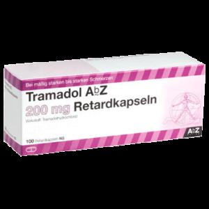 Tramadol ohne Rezept bestellen 200mg Retardtabletten AbZ billger kaufen versandsapotheke europa