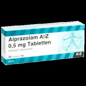 Alprazolam ohne Rezept bestellen 0,5 mg Tabletten direkt kaufen