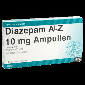 Diazepam ohne Rezept bestellen 10 mg Ampullen kaufen