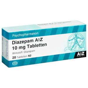 Diazepam ohne Rezept bestellen 10 mg Tabletten kaufen