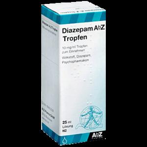 Diazepam ohne Rezept bestellen 10 mg Tropen 25 ml kaufen