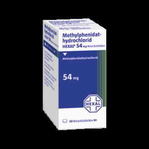 Methylphenidat rezeptfrei bestellen 54 mg Retard direkt Ritalin Adult ohne Rezept kaufen