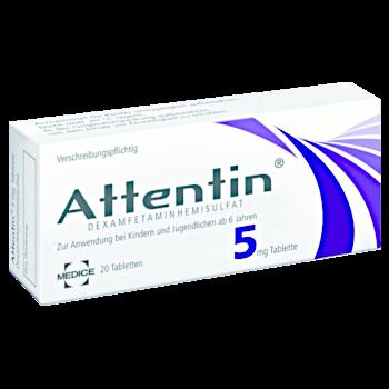 Attentin rezeptfrei bestellen 5 mg Dexamfetamin kaufen ohne Rezept